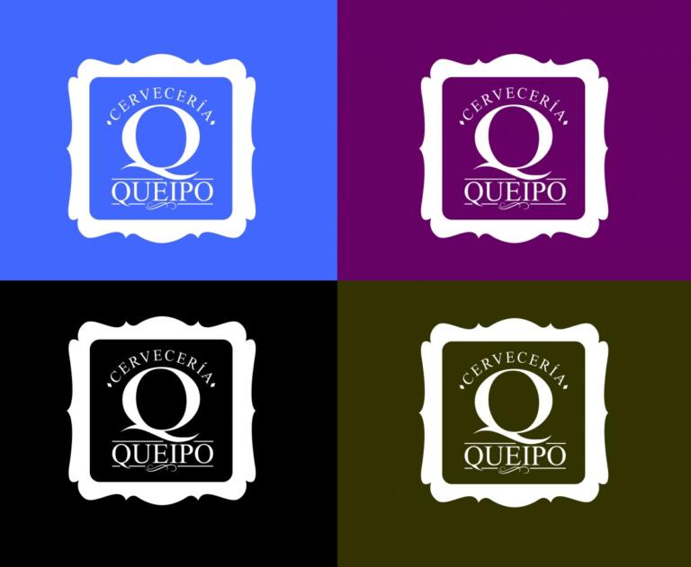 Versión sobre varios colores del logotipo para la cervecería.