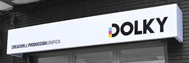 Imagen del exterior del Estudio de Diseño Gráfico e Imprenta Dolky