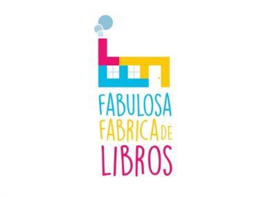 DISEÑO DE LOGO PARA FABULOSA FÁBRICA DE LIBROS
