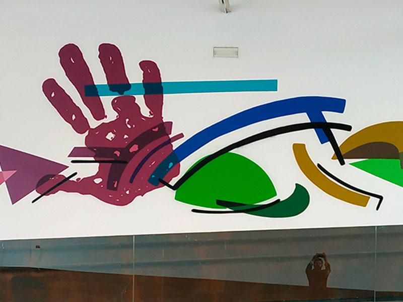 Mural Graffiti Niemeyer